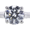 0.90 ct. Round Cut Solitaire Ring, H, VVS2 #4
