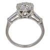 0.72 ct. Round Cut Bridal Set Ring, I-J, VS1 #2