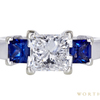 1.51 ct. Princess Cut 3 Stone Ring, F, VS2 #3