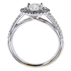 0.74 ct. Round Cut Halo Ring #3