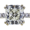 2.08 ct. Cushion Modified Cut Bridal Set Ring, K, SI1 #4