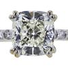 2.08 ct. Cushion Modified Cut Bridal Set Ring, K, SI1 #4