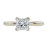 1.02 ct. Princess Cut Solitaire Ring, I, VS1 #3