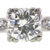 2.06 ct. Round Cut Bridal Set Ring, L, VS2 #4