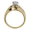 0.54 ct. Round Cut Solitaire Ring, H, SI1 #1