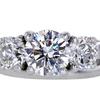 1.61 ct. Round Cut Bridal Set Ring #1