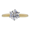 1.06 ct. Round Cut Solitaire Ring, H, VS2 #3