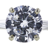 2.50 ct. Round Cut 3 Stone Ring, E, I1 #4