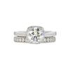 1.51 ct. Round Cut Bridal Set Ring, G, I1 #3