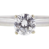 0.73 ct. Round Cut Bridal Set Ring, F, VVS1 #4
