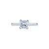 1.21 ct. Princess Cut Solitaire Ring, D, VS1 #3