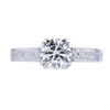0.83 ct. Round Cut Solitaire Ring, G, SI2 #3