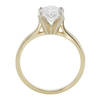 1.73 ct. Oval Cut Solitaire Ring, G, SI2 #4