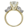 1.97 ct. Round Cut Bridal Set Ring, K, I1 #3