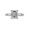 2.13 ct. Emerald Cut 3 Stone Ring, J, VS2 #3