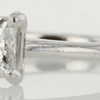 0.76 ct. Princess Cut Solitaire Ring #3