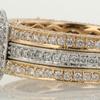 1.22 ct. Round Cut Bridal Set Ring #2