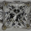 1.04 ct. Princess Cut 3 Stone Ring #2