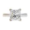 2.41 ct. Princess Cut Solitaire Ring, K, SI1 #3