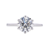 1.63 ct. Round Cut Solitaire Ring, H, VS2 #2
