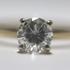 1.0 ct. Round Cut Solitaire Ring #1
