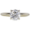 1.03 ct. Round Cut Solitaire Ring, H, SI2 #3