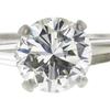 1.98 ct. Round Cut 3 Stone Ring, J, VVS2 #4