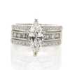 1.33 ct. Marquise Cut Bridal Set Ring #4