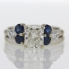 1.53 ct. Radiant Cut Bridal Set Ring #2