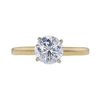 1.07 ct. Round Cut Solitaire Ring, F, I2 #3