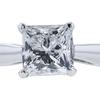 0.91 ct. Princess Cut Bridal Set Ring, F, SI2 #4