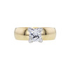 1.00 ct. Princess Cut Solitaire Ring, F, VS2 #3