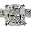 2.03 ct. Cushion Cut Solitaire Ring #1