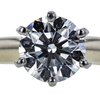 1.00 ct. Round Cut Solitaire Ring, H, SI1 #4