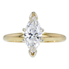 1.02 ct. Marquise Cut Solitaire Ring, H, SI1 #3