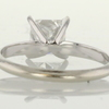 1.28 ct. Princess Cut Solitaire Ring #4