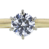 0.82 ct. Round Cut Bridal Set Ring, G, SI1 #4