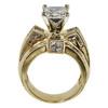 2.5 ct. Princess Cut Bridal Set Ring, K, SI2 #4