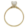 0.7 ct. Round Cut Solitaire Ring, I, SI1 #4