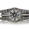 1.55 ct. Round Cut Bridal Set Ring #1