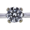 1.07 ct. Round Cut Bridal Set Ring, G, VS2 #4