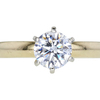 1.00 ct. Round Cut Solitaire Ring, E, SI1 #3