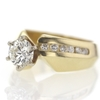 1.04 ct. Round Cut Solitaire Ring #3