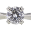 0.75 ct. Round Cut Bridal Set Ring, D, VS1 #4