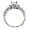 1.02 ct. Princess Cut Bridal Set Ring, H, VS2 #3