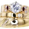 1.42 ct. Round Cut Bridal Set Ring #3