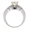 1.02 ct. Round Cut Solitaire Ring, J, SI2 #4