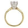 0.94 ct. Round Cut Solitaire Ring, D, VS1 #4