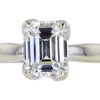 2.04 ct. Emerald Cut Solitaire Ring #1