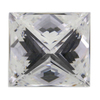 1.06 ct. Princess Cut 3 Stone Ring #2